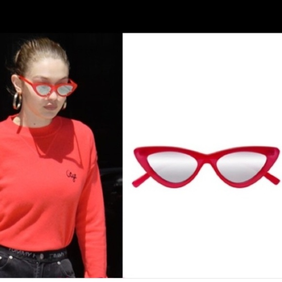 deb607535bd LE SPECS X ADAM SELMAN The last Lolita pink glasse